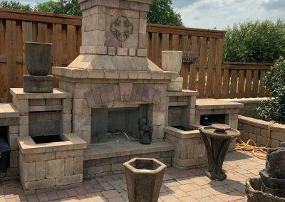Belgard chimney